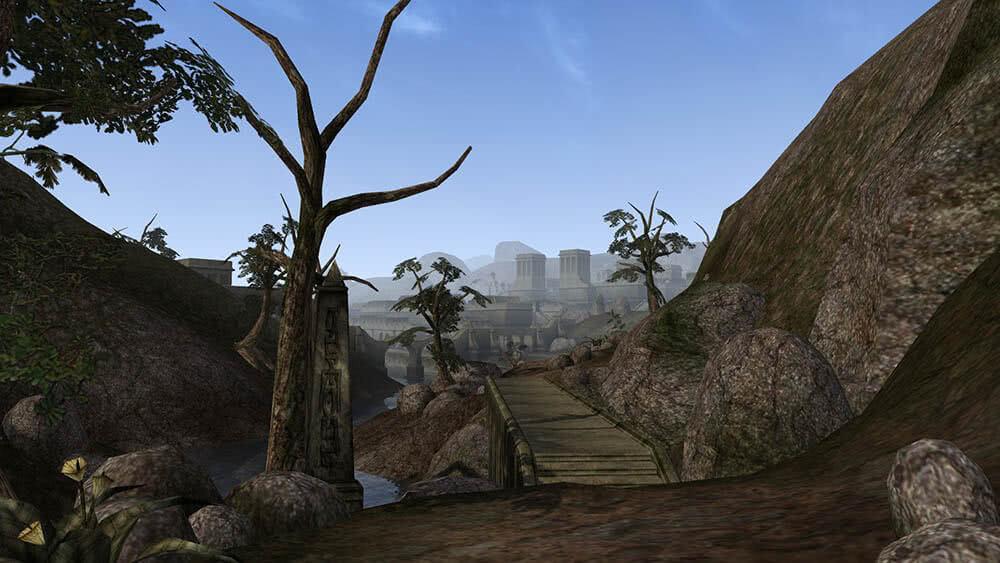 Morrowind обзор - город Балмора