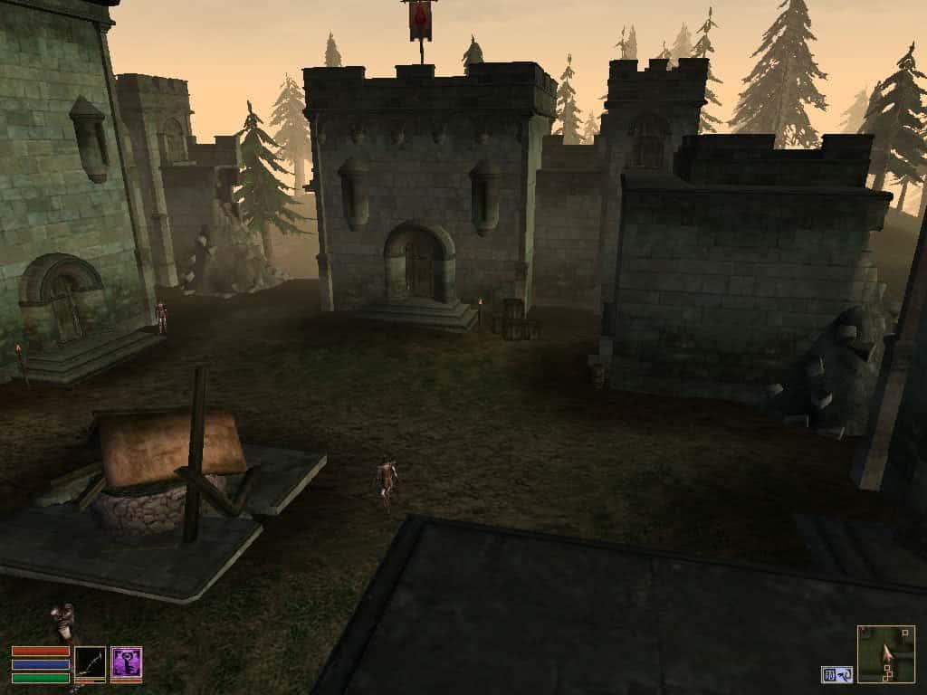 Bloodmoon разбитый форт