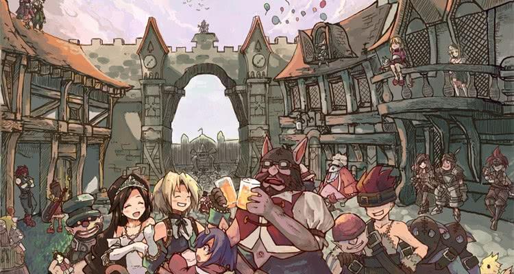 Герои Final Fantasy 9