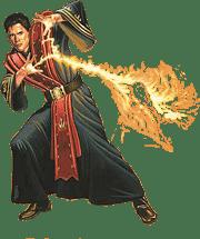 Маг Огня в атаке