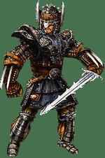 Охотник на драконов из игры Готика 2