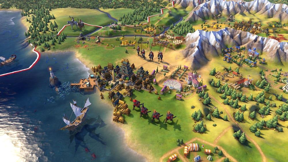 Civilization VI продолжении франшизы пейзаш