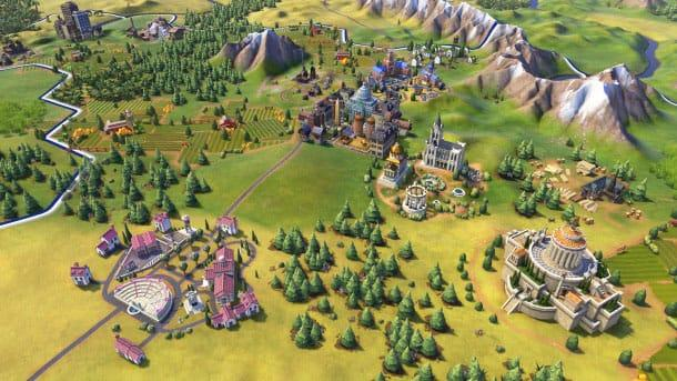 Civilization VI продолжении франшизы горы