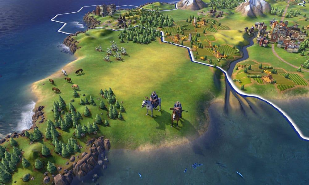 Civilization VI продолжении франшизы река