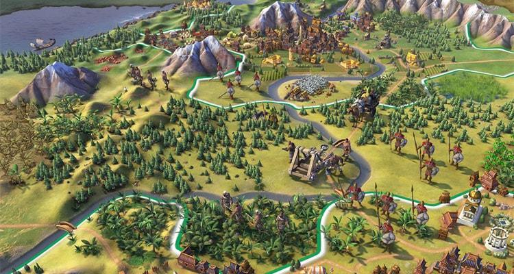 Civilization VI карта
