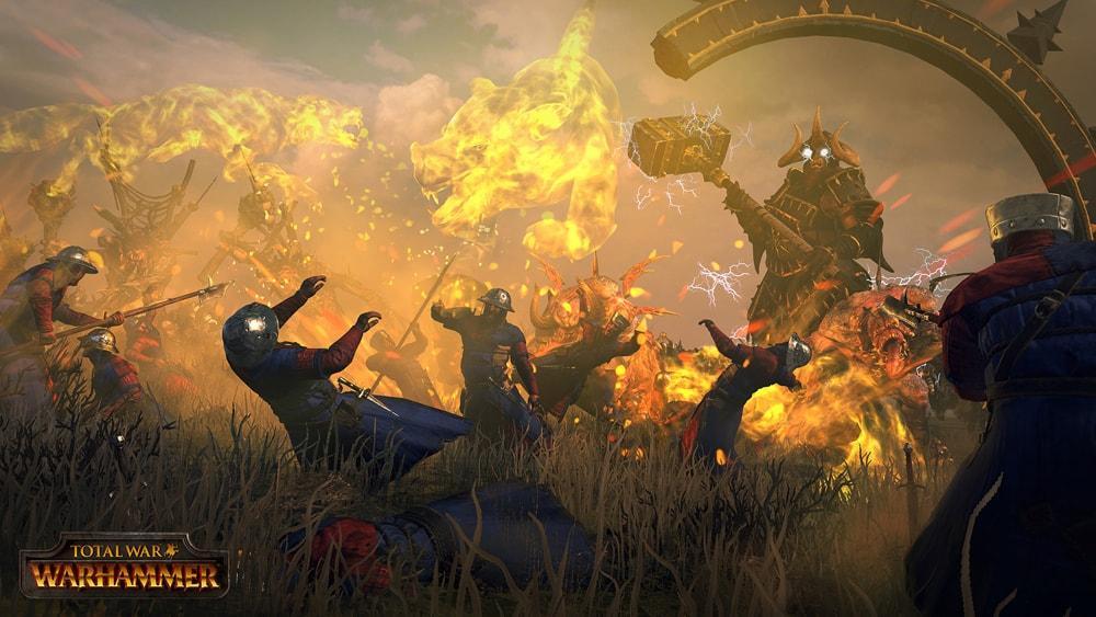 Warhammer скриншоты боевой магии 1