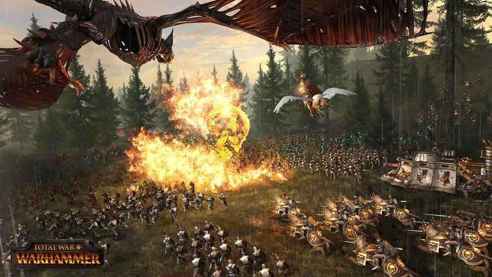 Warhammer скриншоты боевой магии 2
