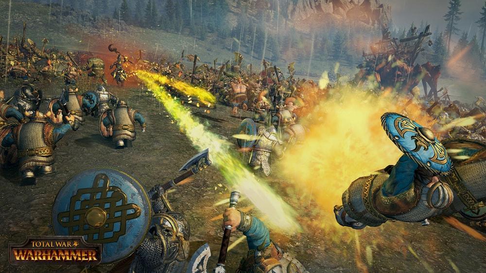 Warhammer скриншоты боевой магии 3