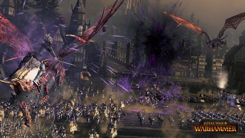 Warhammer скриншоты боевой магии 4