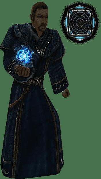Ледяна стрела из арсенала Магов воды в игре Готика 1