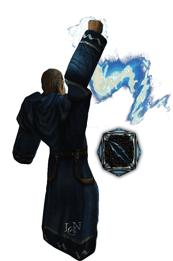 Молния из арсенала Магов воды в игре Готика 1