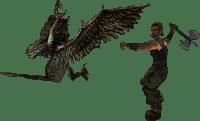 Атака Гарпии из Готики 1