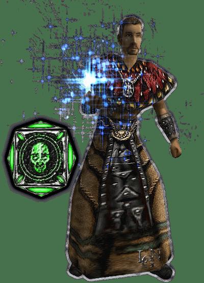 Чары из арсенала Гуру в игре Готика 1