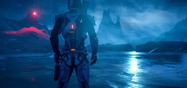 Вид моря в Mass Effect: Andromeda