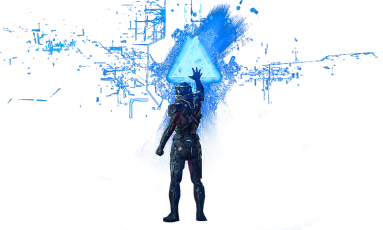 Mass Effect: Andromeda светящийся треугольник
