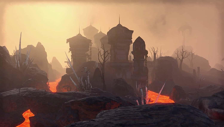 The Elder Scrolls Online: Morrowind Башенка район Грейзера
