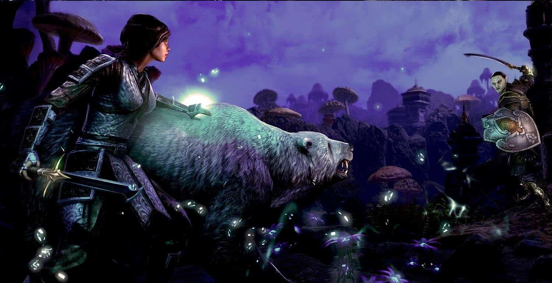 The Elder Scrolls Online: Morrowind PVP в игре