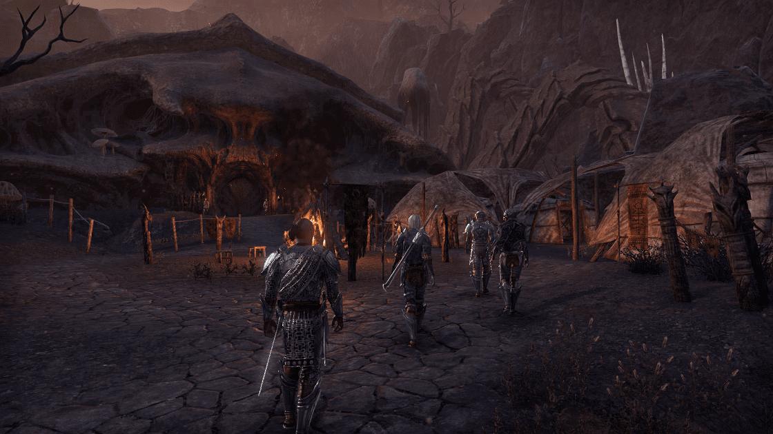 The Elder Scrolls Online: Morrowind Патька в Альдруне
