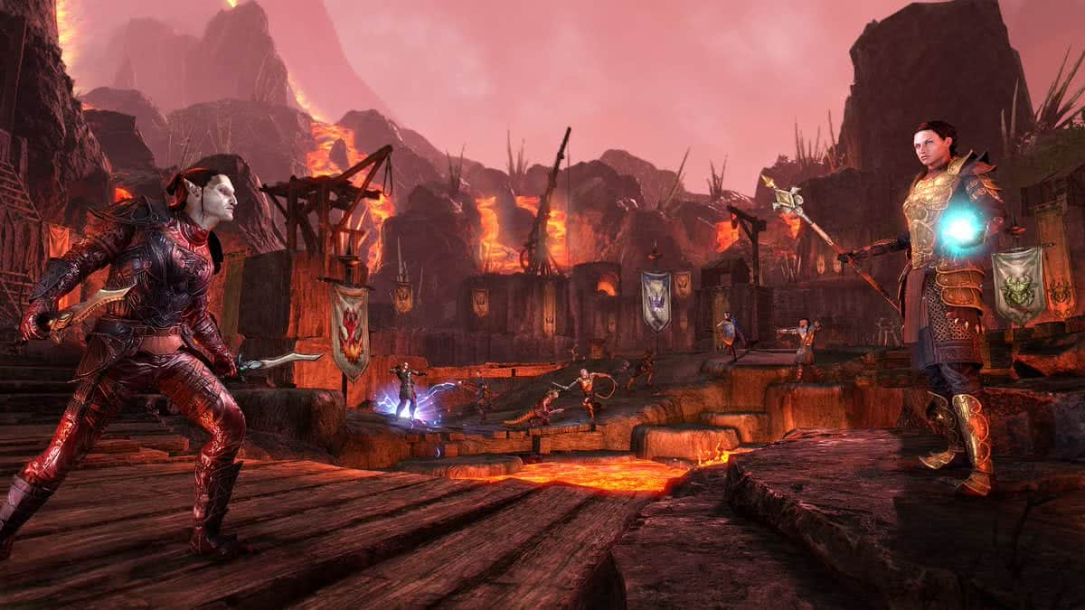 "The Elder Scrolls Online: Morrowind Арена ""Красная гора"""