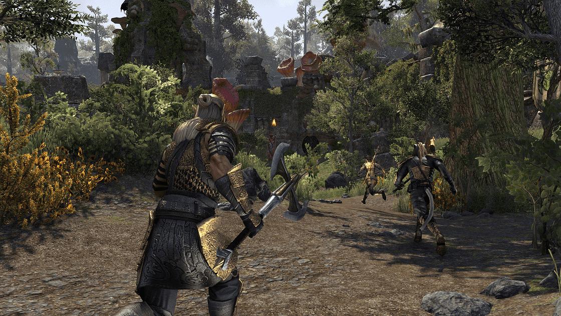 The Elder Scrolls Online: Morrowind Даедрические руины