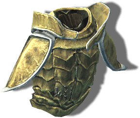 Улучшенная костяная броня. Скайрим