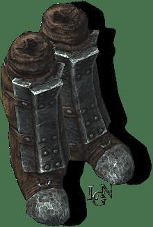 Древние нордские сапоги. Скайрим