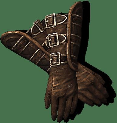Тяжелые перчатки Стражи Рассвета. Скайрим
