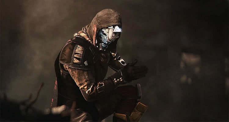 Герой из игры Destiny2