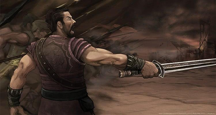 Безымянный с мечом