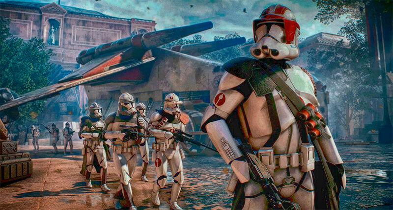 Новый Трейлер Star Wars: Battlefront 2
