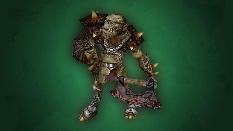 Монстры игры Готика 1 - Клановый боец орков