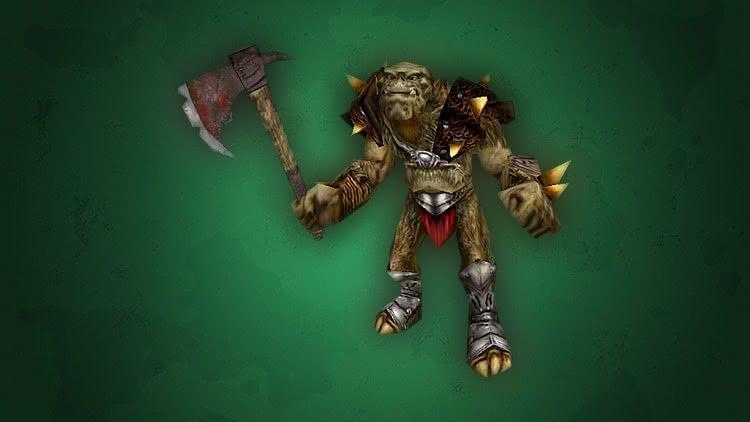 Готика 1 Монстры - Воин орков