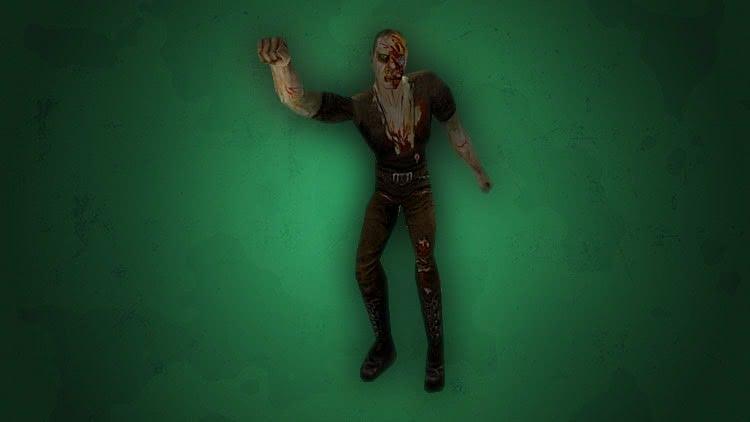 Готика 1 монстры - Зомби тянется правой рукой