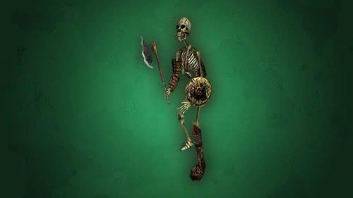 Боец скелетов из игры Готика 1