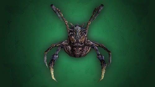 Демон Крушак из игры Готика 1