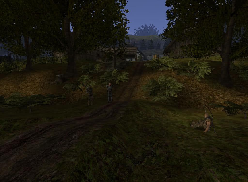 Охранники фермы Онара - игра Готика 2
