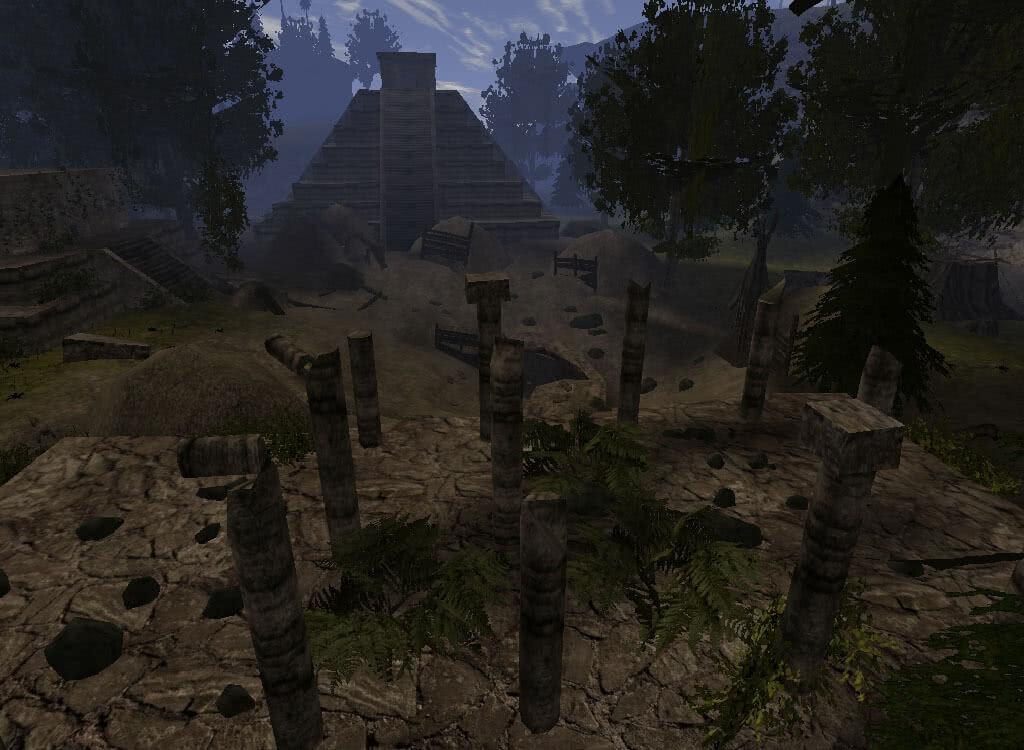 Древние развалины Зодчих - игра Готика 2