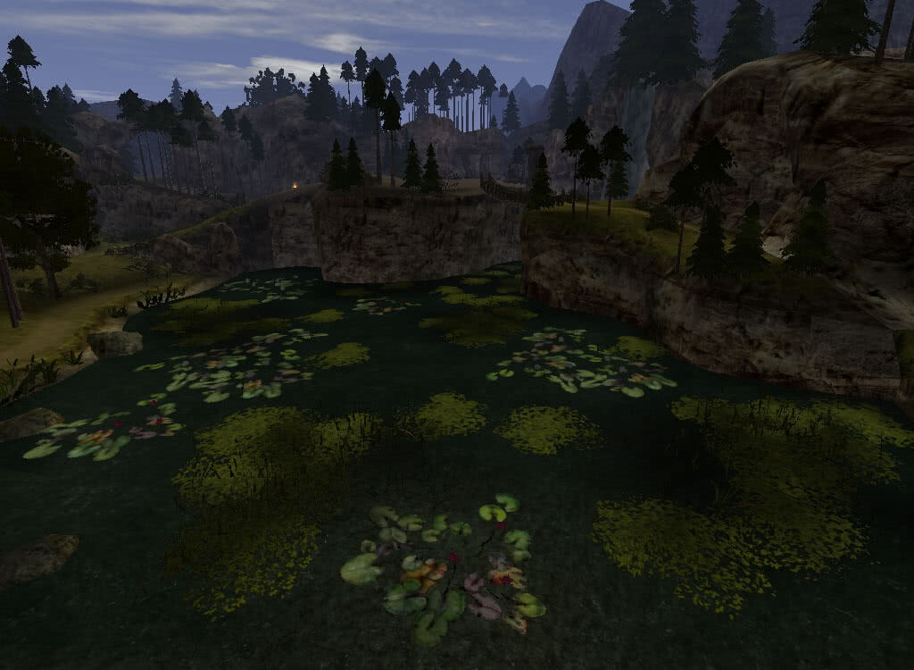 Озерцо у Черного тролля - игра Готика 2