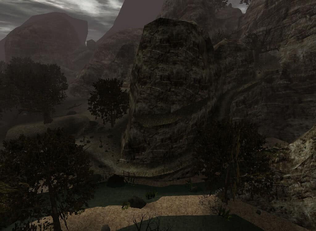 Спуск в Долину рудников - игра Готика 2