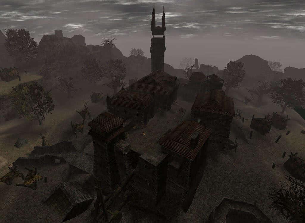 Старый замок в Минентале - игра Готика 2