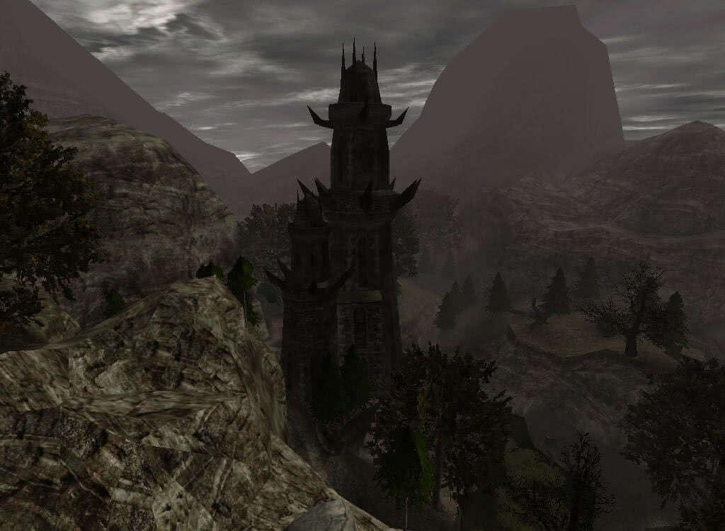 Старая башня Ксардаса - игра Готика 2