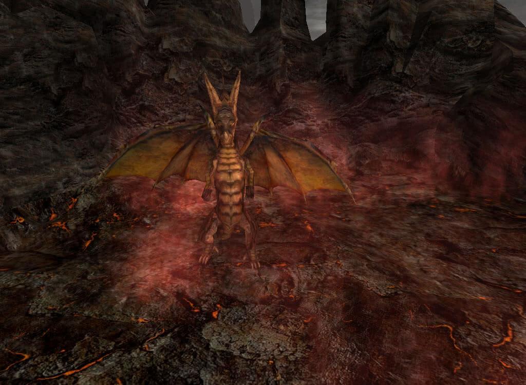 Огненный дракон - игра Готика 2