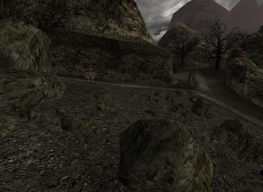Орк и шершни - игра Готика 2