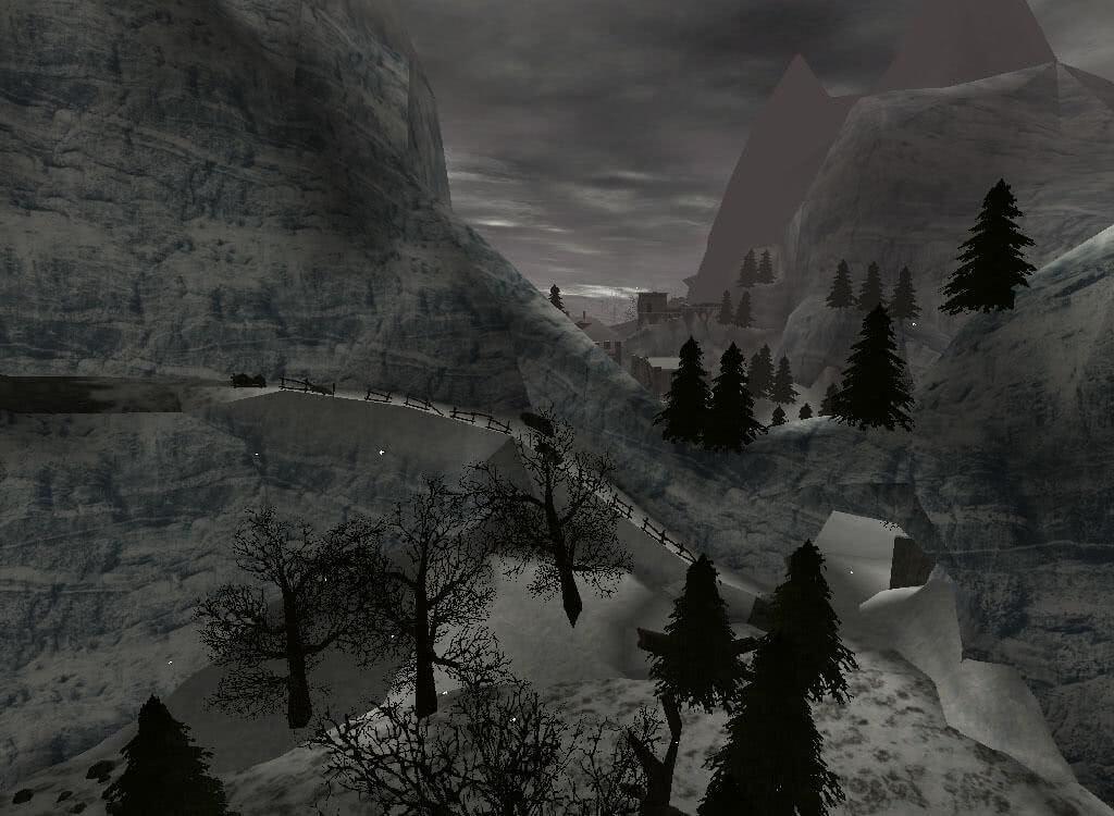 Проход в Новый лагерь - игра Готика 2
