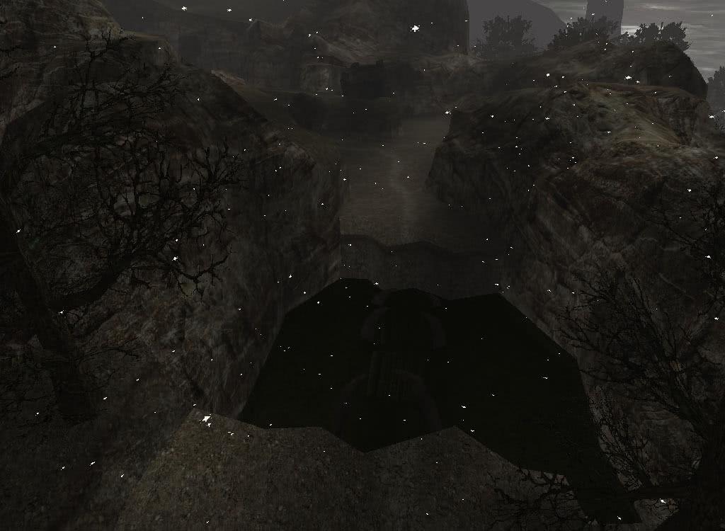Мост в храм Спящего - игра Готика 2