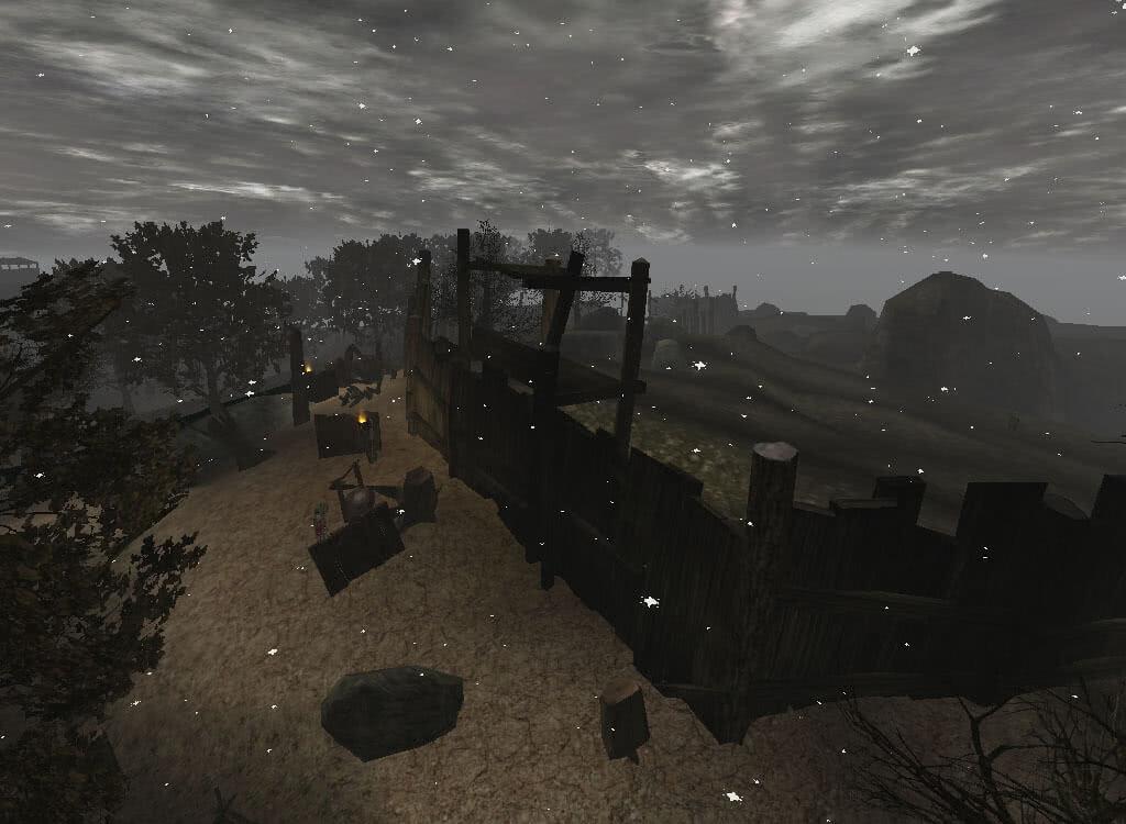 Забор орков - игра Готика 2