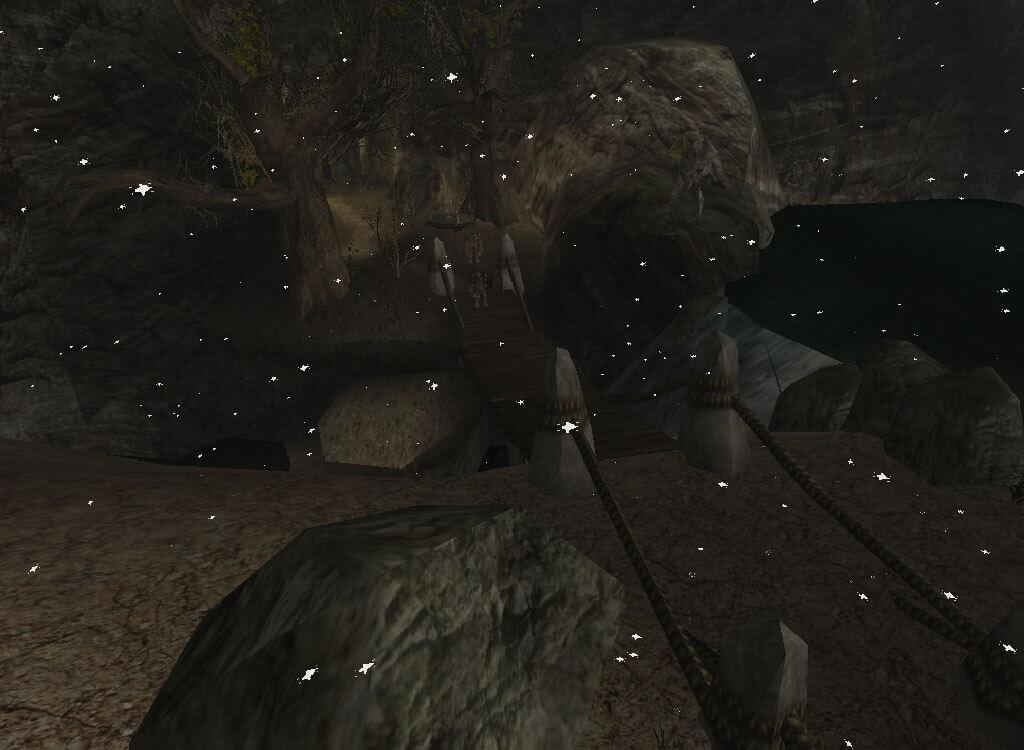 Мост в заваленные пещеры - игра Готика 2