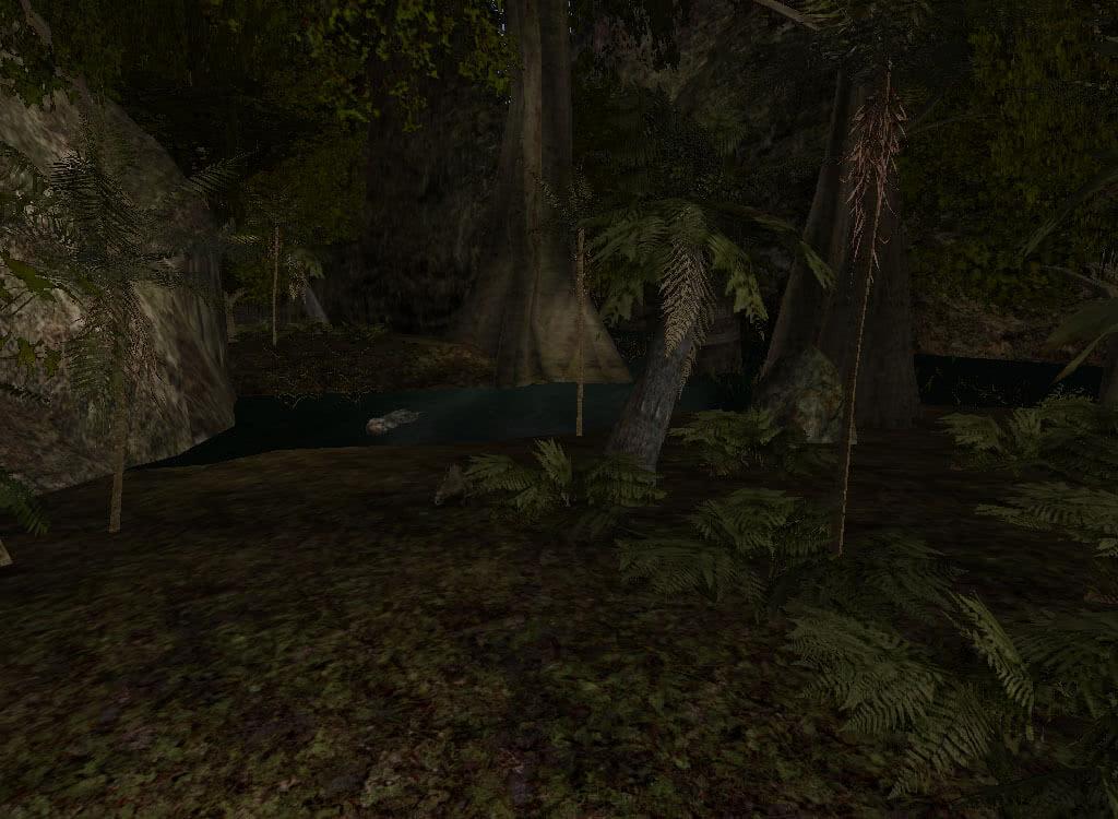 Болото у лагеря бандитов - игра Готика 2