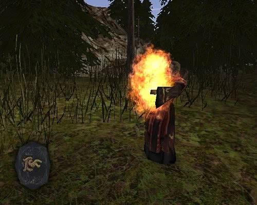 Руна Большой огненный шар – Готика 2