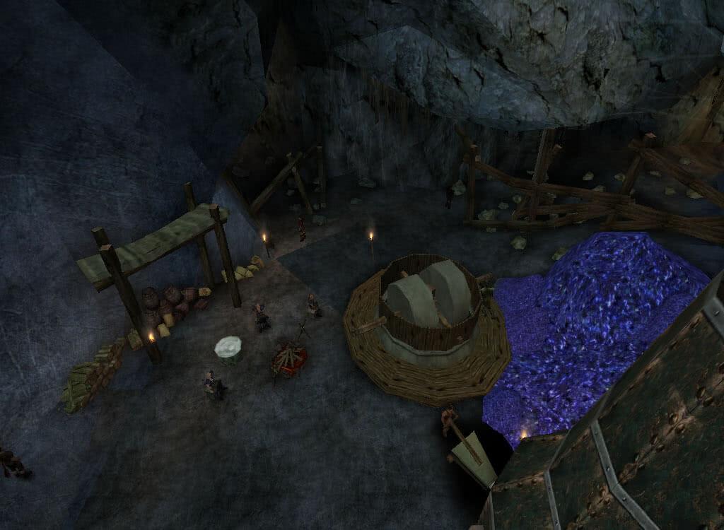 Плавильня в Старой шахте